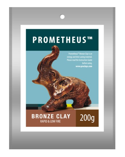 Prometheus bronze Clay 200g