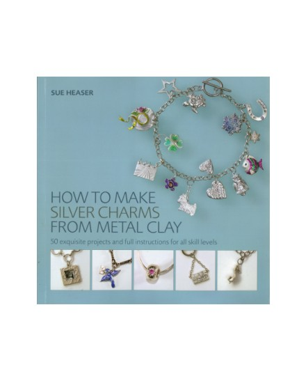 How to Make Silver Charms from Metal Clay