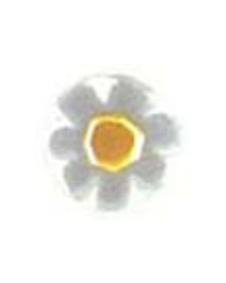 Millefiori white 10mm 90g